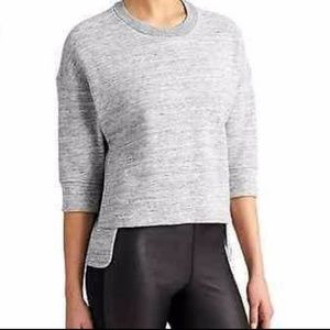 Derek Lam 10C Athleta Heathered Sweatshirt